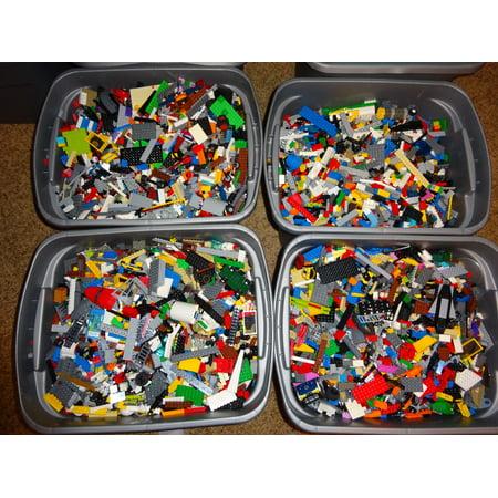 Lego Halloween Part 2 (Bulk LEGO LOT! 2 pound bag of Bricks, parts, Pieces, Tires, accessories 2)