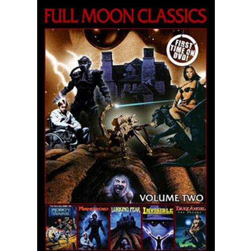 Full Moon Classics: Volume Two - Invisible / Robot Wars, Mandroid, Lurking Fear, Dark Angel: The Ascent
