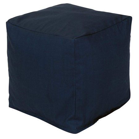 Majestic Home Goods Solid Indoor/Outdoor Ottoman Pouf Cube ()