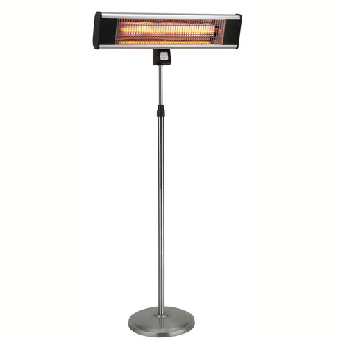 1500W Infrared Pedestal Style Electric Patio Heater by Ventamatic, Ltd.