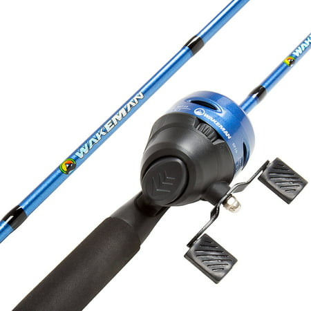 (Wakeman Swarm Series Spincast Rod and Reel Combo)