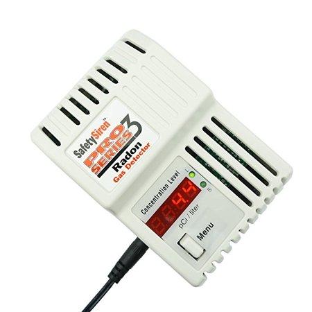 Safety Siren   Pro Series3 Radon Gas Detector