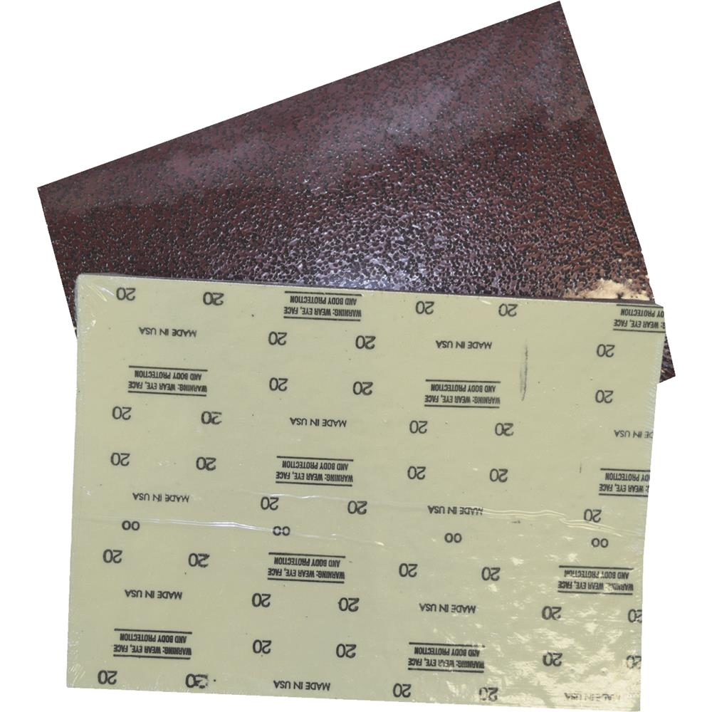 Virginia Abrasives 12x18 36g Sanding Sheet 206-834036 Pack of 10
