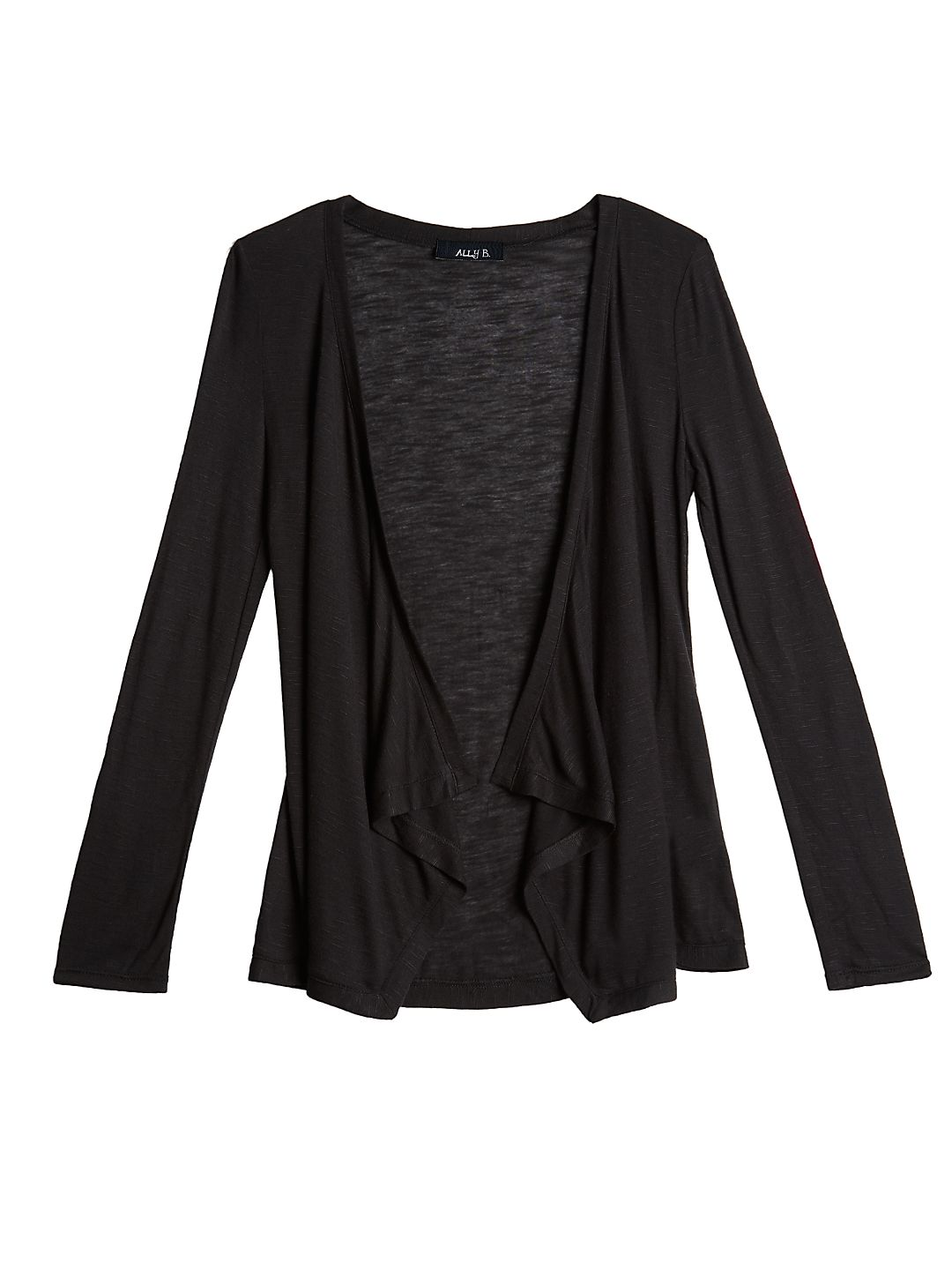 Girl's Open Front Cardigan