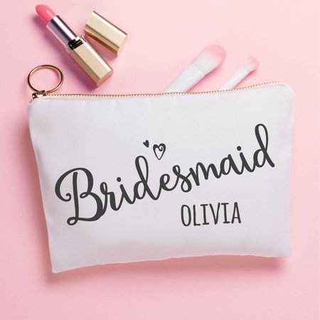 - Bridesmaid Gift - Personalized Zipper Pouch