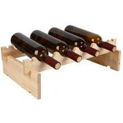 Solid Wood Wine Rack Decoration Wine Cabinet Home Wine Bottle Rack