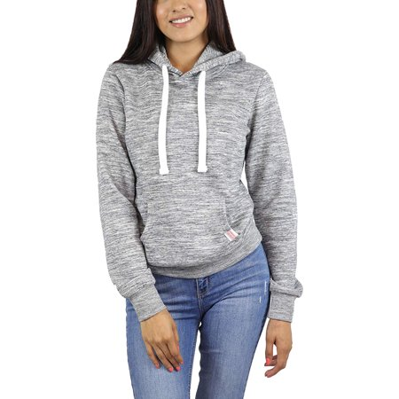 StyLeUp Women's Basic Pullover Hoodie Sweater Lightweight Warm Fleece Lining (416 MCH (Best Lightweight Warm Clothing)
