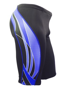Product Image Adoretex Men s Side Wings Jammer Swimsuit (MJ009) - Black Blue  - 22 ed42aaddb