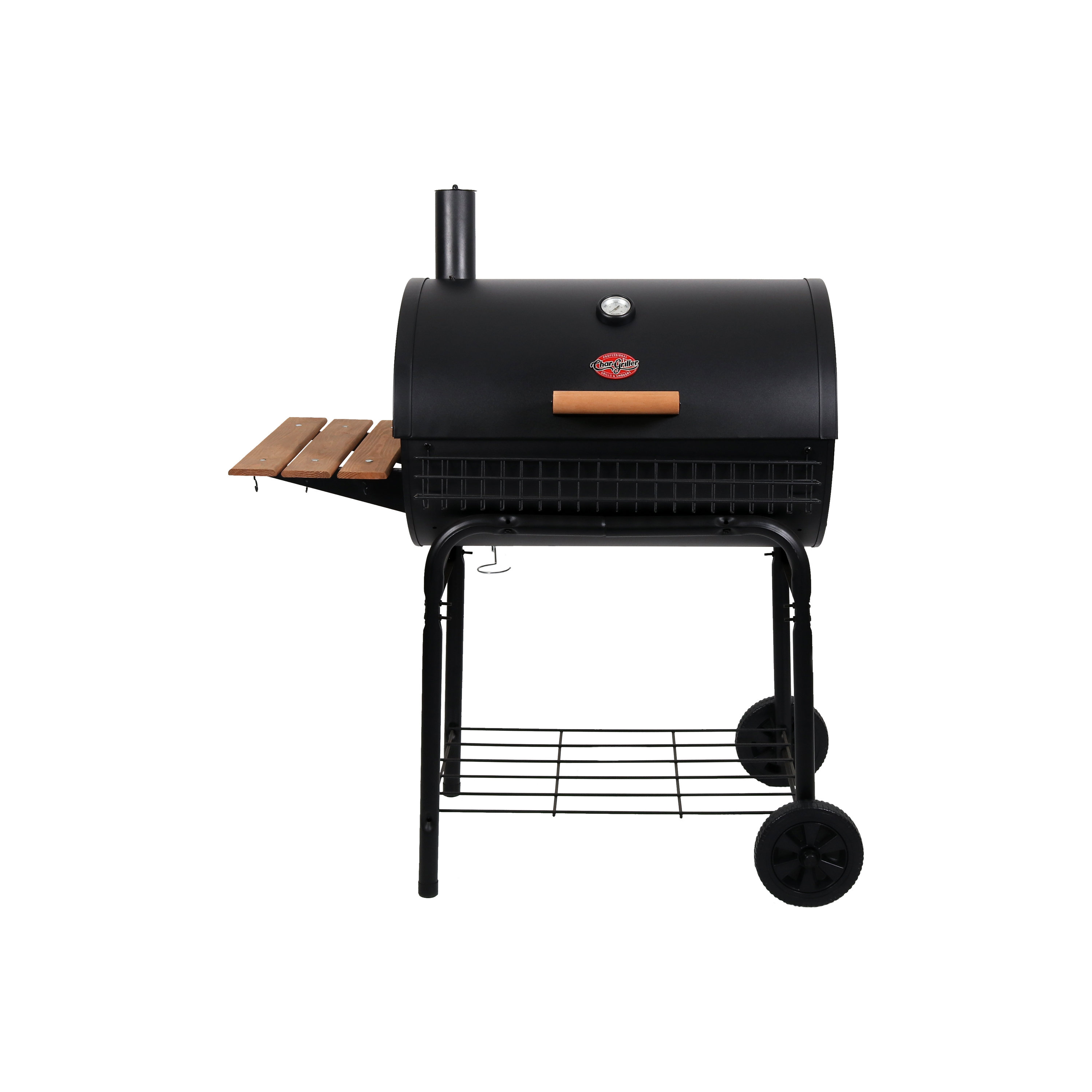 "Char-Griller Deluxe 29"" Charcoal Grill, Black, E2828 by Char-Griller"