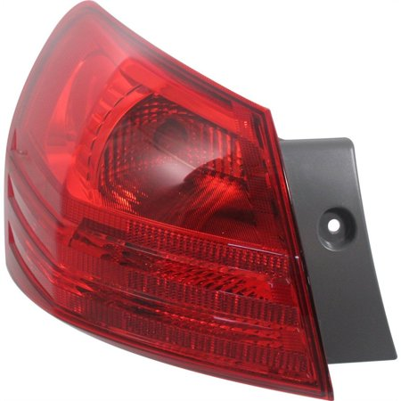 NEW TAIL LAMP ASSEMBLY LEFT SIDE FITS 2008-2014 NISSAN ROGUE 26555JM00A