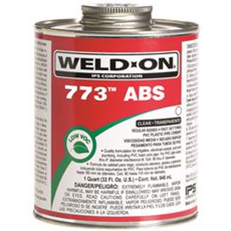 Abs Plastic Cement - ABS CEMENT 1/4 PINT