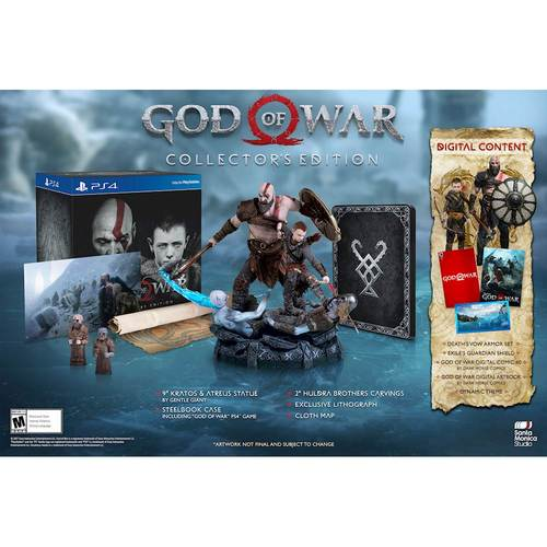 Refurbished Sony God of War: Collectors Edition (PS4)