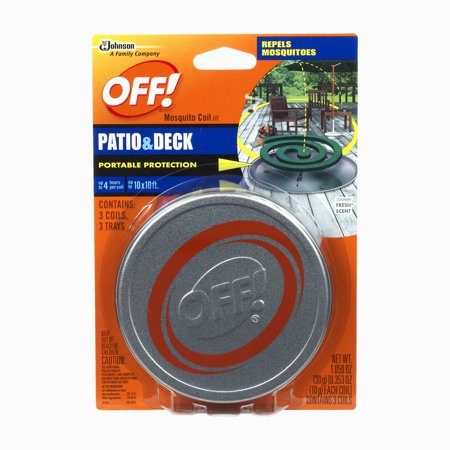 Off  Patio And Deck Coil Tin