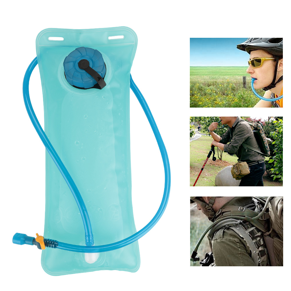 Portable 2L Environmentally-friendly Drinking Tube Bladder Water Bag for Outdoor Sports, 2L Water Bag, Water Bladder by
