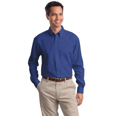 Port Authority Long Sleeve Value Poplin Shirt S632