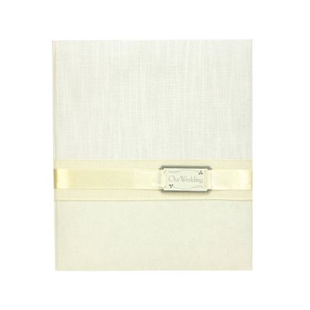 C.R. Gibson Loose Leaf Memory Wedding Photo Album, Candlelight, Features guided record pages, as well as two formats of pages to display and.., By CR Gibson Cr Gibson Loose Leaf