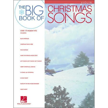 Halloween Song Violin (Hal Leonard Big Book Of Christmas Songs for)