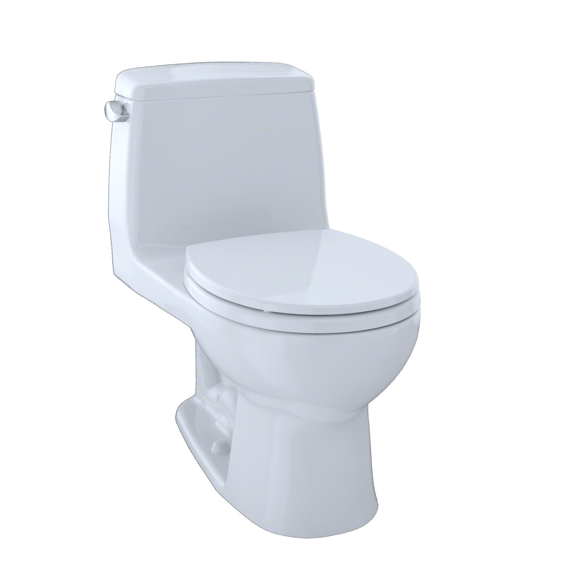 TOTO® Ultimate® One-Piece Round Bowl 1.6 GPF Toilet, Cotton White - MS853113#01