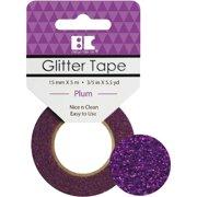 Best Creation Glitter Tape 15mmX5m-Plum