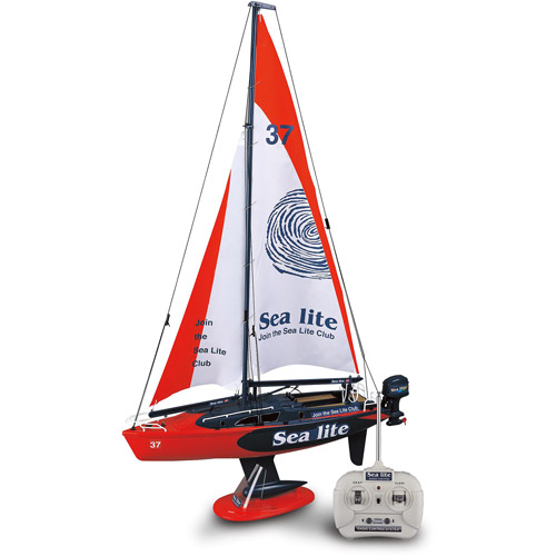 Golden Bright Full Function Radio Control Boat, Red