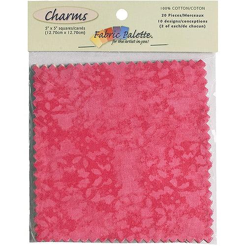 """Fabric Palette Charm Pack, 5"""" x 5"""" Cuts, 100% Cotton, 20/pkg"""