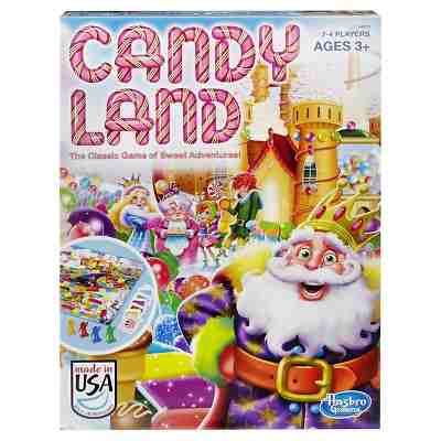 Candyland Board Game - Candyland Gameboard