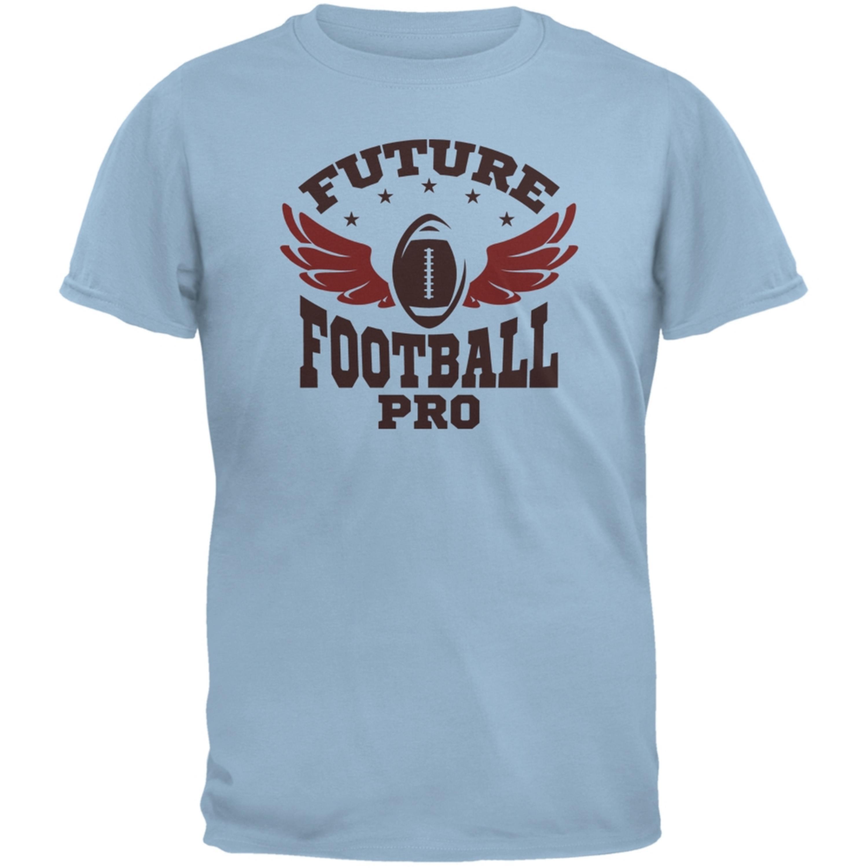 Future Football Pro Light Blue Youth T-Shirt