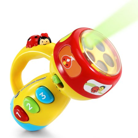 VTech, Spin & Learn Color Flashlight, Toddler Learning Toy