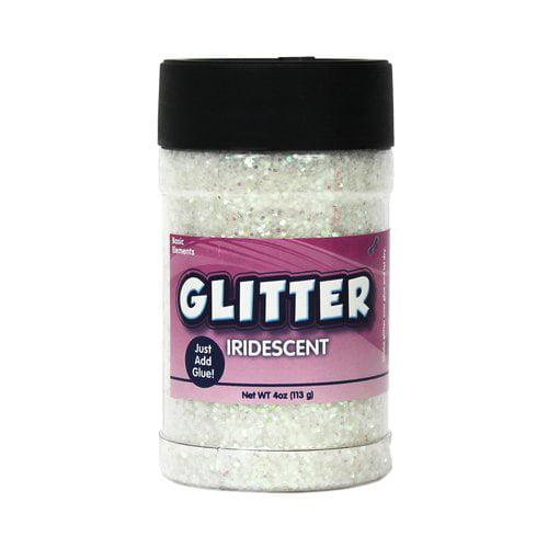KIDS CRAFT 4 oz Glitter Shaker, Iridescent