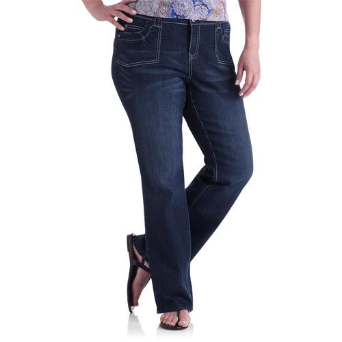 Faded Glory Women's Plus-Size Gloria Bootcut Fashion Jeans