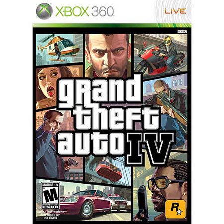 Grand Theft Auto IV (Pre-Owned), Rockstar Games, Xbox 360, 886162342031 (Gta Online Halloween Costumes)