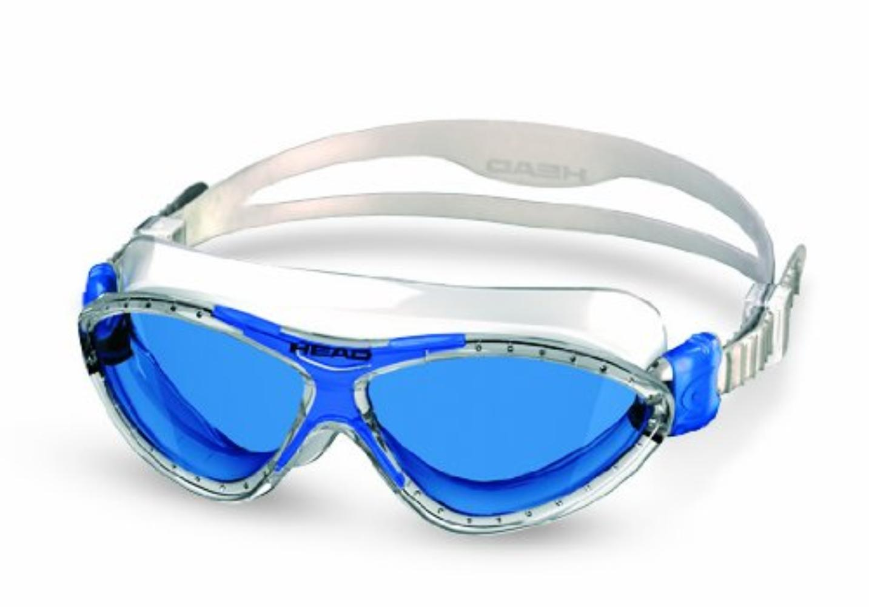 Head Monster Jr. Kids Swim Goggles Blue Frame Blue Lens, Features aWalmartfortable, leak-resistant Softeril face skirt... by