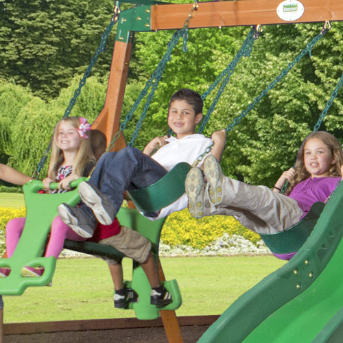 Backyard Discovery Shenandoah All Cedar Swing Set