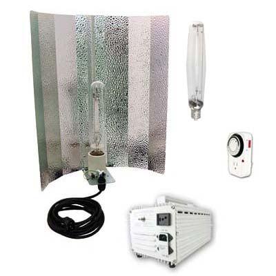 Virtual Sun 1000W HPS MH Winged Reflector Magnetic Grow Light Kit 1000 Watt