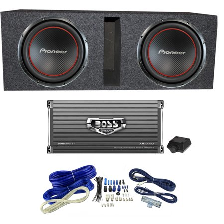 pioneer ts-w304r bass package - 2) 12