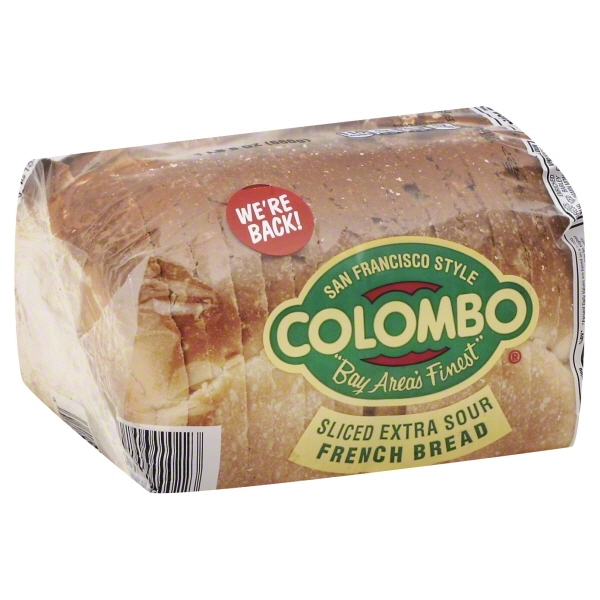 Colombo Sliced Extra Sour French Bread, 8 oz