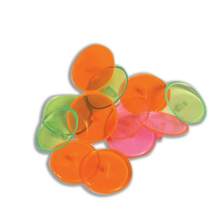 Neon Golf Ball Markers by JP Lann - Available in 12 count, 24 count or Bulk (500 (Lsu Ball Marker)