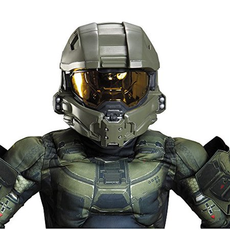 Master Cheif Helmet (Disguise Master Chief Child Helmet Costume)