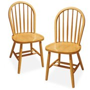 Winsome Wood Windsor Chair, Set of 2, Multiple Finishes - Walmart.com