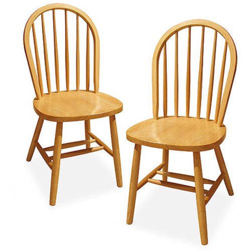 Windsor Chair Set Of 2 Multiple Finishes