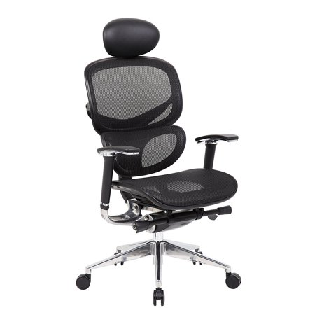 Multi-Function Ergonomic Mesh Chair Comfort Highly Adjustabl Desk Task Office Chair Fabric Seat