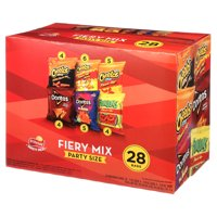 Frito-Lay Fiery Mix Variety Pack , Party Mix, 28 Count