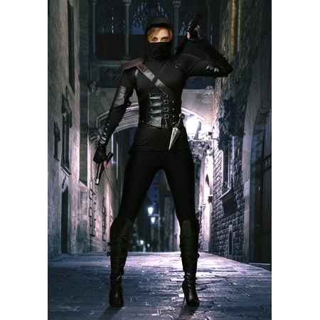 Women's Ninja Assassin (Sexy Assassin Women's Ninja Costumes)