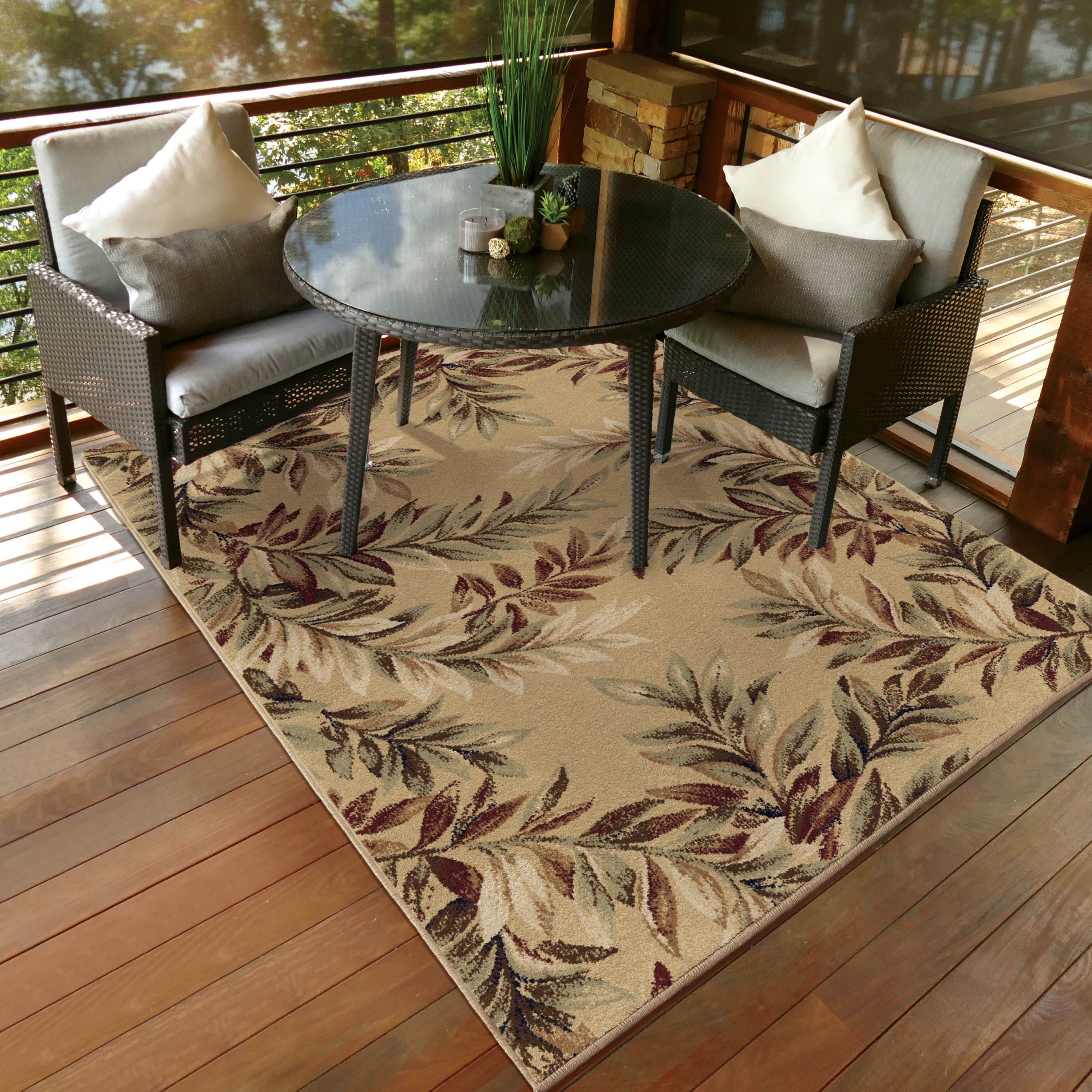 Orian Rugs Breezy Parchment Area Or Runner Rug Walmart Com