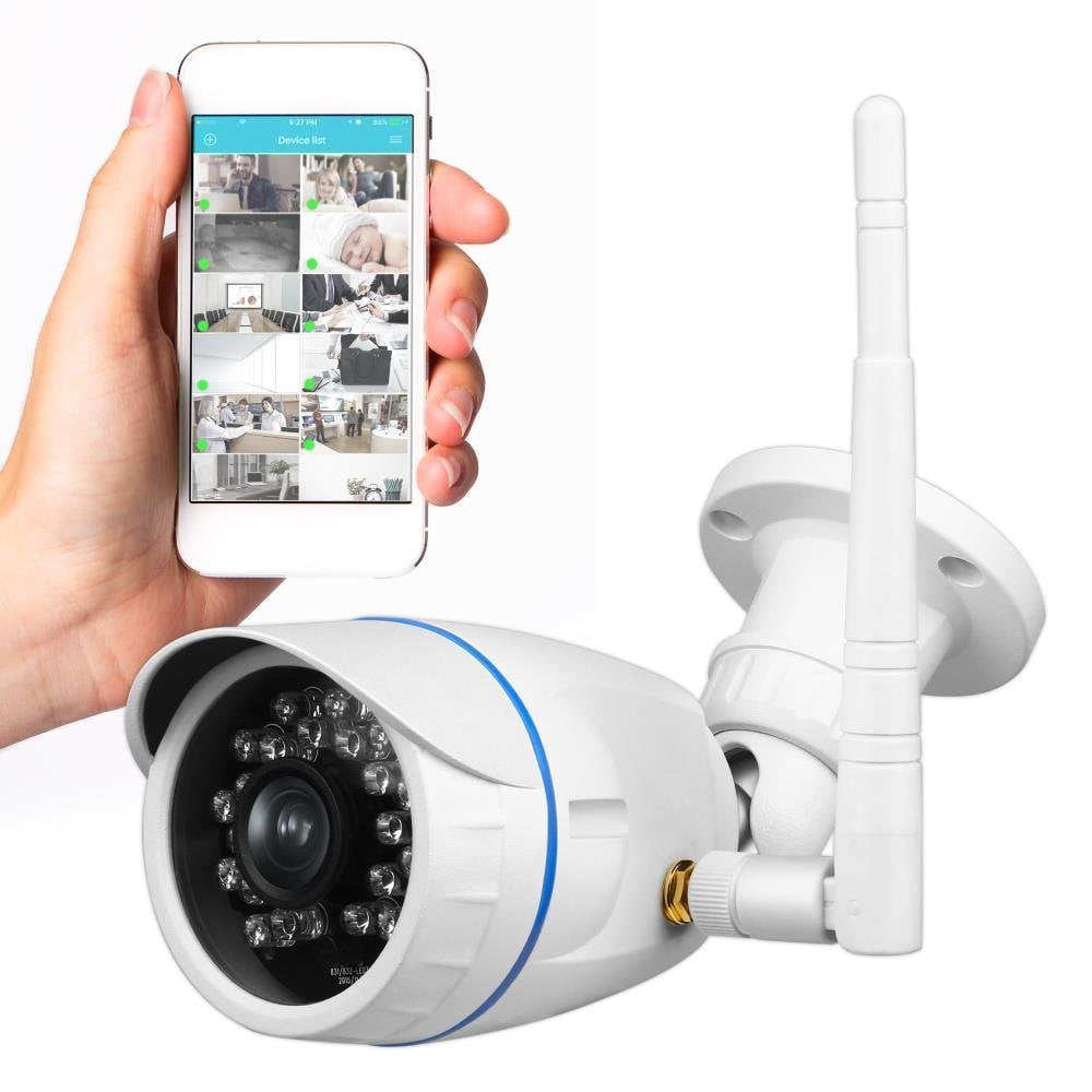 Exterior Home Security Cameras: Wireless Outdoor IP Security Camera