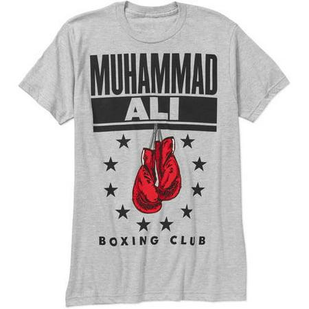 Muhammad Ali Men's Boxing Gloves Graphic Tee