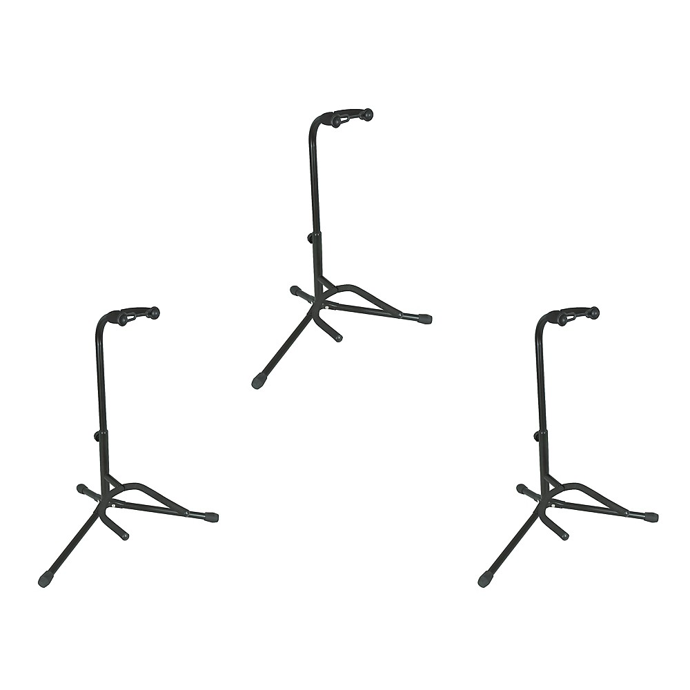Musician's Gear Electric, Acoustic and Bass Guitar Stands (3-Pack) by Musician's Gear