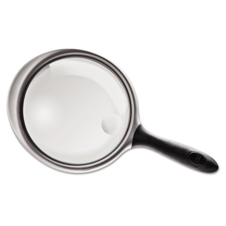 Bausch & Lomb 2X - 4X Round Handheld Magnifier with Acrylic Lens, 5