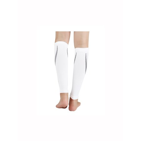 Unique Bargains Unisex Footless Stretchy Novelty Prints Ankle Band Compression Socks 1 Pack - image 2 de 3