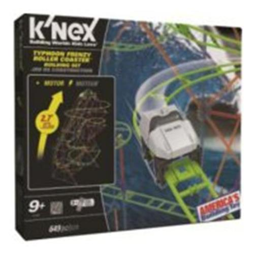 KNex Typhoon Frenzy Roller Coaster Set #51438